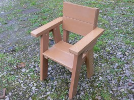 Thames Children's Garden Chair | Ages 2-7 Years | Recycled Plastic image