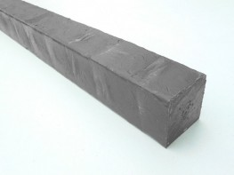 Recycled Mixed Plastic Square Post   Nailer Batten   40 x 40mm   Lumber Profile - Kedel Limited