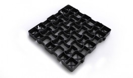 Recycled Plastic Geo-Grids - Drainage and Ground Reinforcement Grids - Easy Assemble image