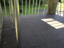 Recycled Mixed Plastic Lumber   Decking   Ultra   150 x 38mm - Kedel Limited