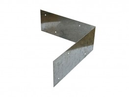 Birdsmouth Galvanised Post Strap | Birdsmouth (V-Top) Fencing image