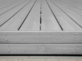 Kedeck Fascia Board | Recycled Mixed Plastic Decking - Kedel Limited