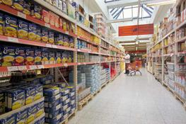 Optim is a versatile shop fitting system for many purposes. It's solid structure allows for displays of large volumes goods and merchandise. Optim shop fitting is adaptable and all-equipped – from a corner shop to a supermarket. It is suitable to agricultu...