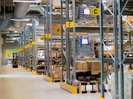All warehouses must have a sign and marking system. It is the basis for an effective handling system within a warehouse, giving correct and fast identification for picking as well as loading of goods. An article register is often linked to the label system and...
