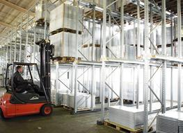 P90 Drive-in racking is ideal for storing large quantities of the same type of goods: your existing space can be used up to 90% more effectively with Drive-in racking compared to standard, conventional pallet storage systems.  Drive-in racking is suitable for ...