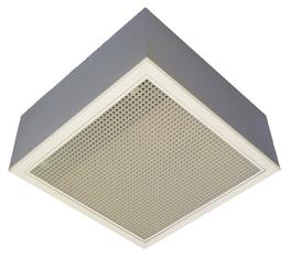 The ZH electric warm air heater is suitable for space or spot heating and fits into a   600mm suspended ceiling grid.  The unit comes with a hinged core eggcreate grille allowing for easy maintenance access....