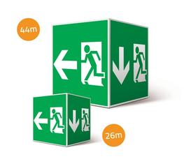 QUBE - Emergency Exit Sign image