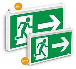 BIG ONE (over-size) - Emergency Exit Sign image