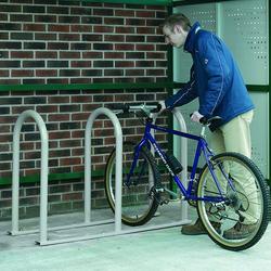 02ddc223525 Hoop Cycle Racks by Focal Signs & Labels