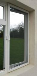 Aluminium Window Screen - Fixed - Domestic - Made to Measure - White - The Flyscreen Company Ltd
