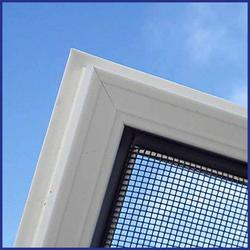 Face fits, inside or outside, to existing frame, subframe or wall outside the reveal. If your window opens out the flyscreen will be fitted on the inside and vice versa.  Top-Hinged screen - held in place by 2 small hinges and 2 turn buttons.  Powder coated al...