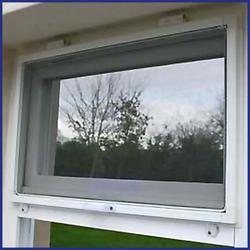 Aluminium Window Screen - Top Hinged - Domestic/Light Commercial - MTM - The Flyscreen Company Ltd