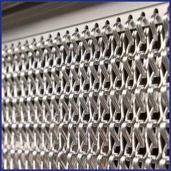 Chain Screen - Anodised Aluminium Chain - Kit A - The Flyscreen Company Ltd