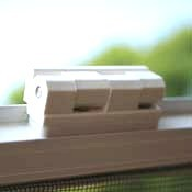 Aluminium Hinged Window Screen - Commercial - Made To Measure - White - The Flyscreen Company Ltd
