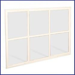 Sliding Window Screen - Commercial - Made To Measure 3 Panes - White image