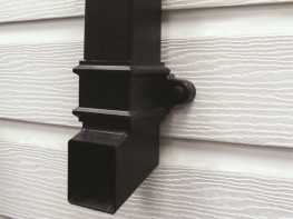 Cast Iron Style Square Downpipe System image
