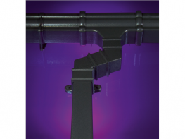 Cast Iron Style Square Downpipe System - FloPlast Ltd