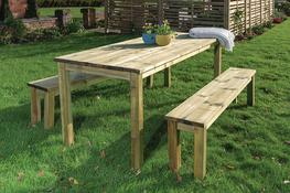 Essential Table and Bench Set image
