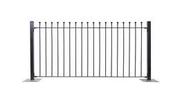 Wenlock Ball Top Fence image