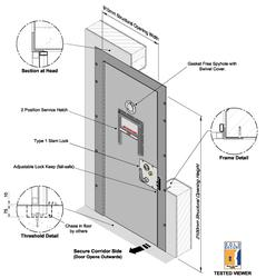 CSL0103 Cell Door - Armed Forces image