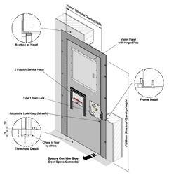 CSL0106 Cell Door - Custom & Excise image