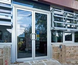 Aluminium doors image