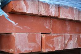 A batch on reclaimed bricks. Red in colour with a smooth face....