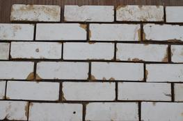 "We have found that the glazed bricks have been very popular,but in many cases,a full brick would restrict space    At Cawarden,we have cut the brick into slips to reduce the space needed to create the ""shabby chic"" look!   We take care to ensure the glazed bri..."