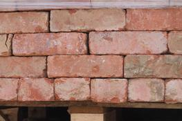 A large batch of good quality bricks with a classic wirecut face and texture. Orange to red/orange in colour mix. ...
