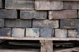 Reclaimed Staffordshire Blue Engineering Brick  Very even in colour and size, this brick is equally at home either in a wall or used as a brick pavior. ...