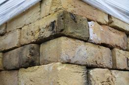 Reclaimed London Stock Buff/Yellow brick  A nicely weathered London Stock brick ...