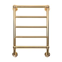 Kora 5 Polished Brass Electric Towel Radiator image
