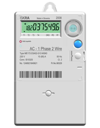 ME172 electricity meter image