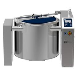 High Productivity CookingSmart Electric Boiling Pan 300lt, 600mm tilting height image