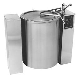 High Productivity CookingEasyline Electric Boiling Pan with Auto Filling System 100lt image