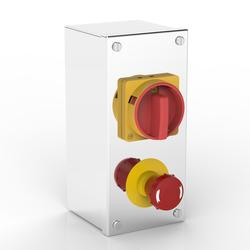 Rotary Isolator & Emergency Stop Enclosure | With Allen-Bradley switches image