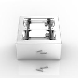 Sockets & Back Boxes | Surface Mounted Pedestal Back Box - Electrix International Ltd