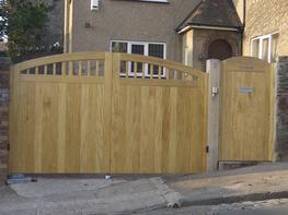 WG001 - Wooden Gate image