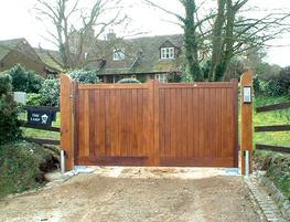 WG006 - Wooden Gate image