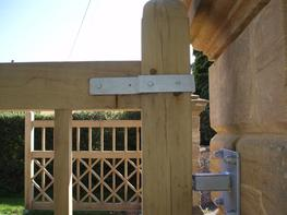 WG008 - Wooden Gate image