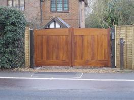 WG0019 - Wooden Gates image