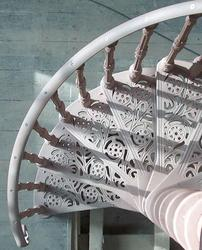 Our traditional cast iron staircases are available as a spiral or straight stair arrangement and perfectly match Victorian hand made designs.  Available in various sizes up to 2100mm diameter, the cast iron spiral staircases are suitable for internal and exter...