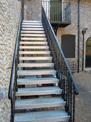 Steel Straight Flight Staircases image