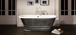 Geminus Plinth Roll Top Bath Tub image