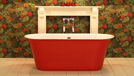 Origine Double Ended Free Standing Bath Tub image