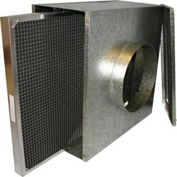 Spiral Duct Mounted Air Filter Housing   G2-G4 to EN779 - Airclean Ltd