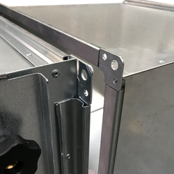 MEZ Flange Side Access Filter Housing for Panel and Bags - Airclean Ltd