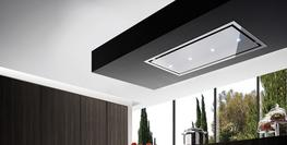 Otello Stainless Steel & Stainless Steel Frame Ceiling Hood image