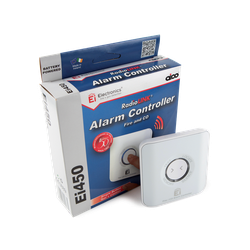 The Ei450 is used to control all the alarms in a system from one place. We highly recommend fitting a control switch if you have smoke, heat and carbon monoxide alarms on the same system as it's essential that you can tell which alarm has sounded. From then ...