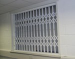 Our security grilles are the first choice for window and door security in any home, office, or retail premises, especially where head room is limited. Top hung and constructed from steel are not only easy to use and reliable, but provide piece of mind. Single ...